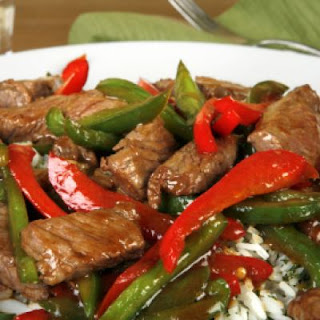 Excellent Pepper Steak.