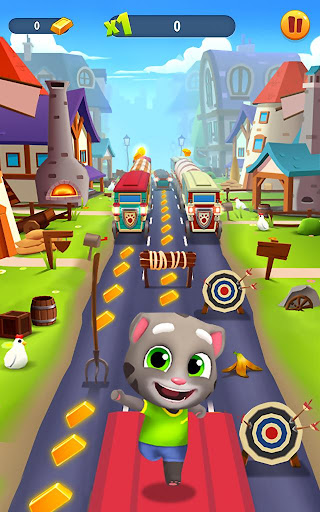 Talking Tom Gold Run  screenshots 12