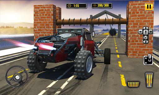 Deadly Car Crash Engine Damage: Speed Bump Race 18 screenshot 3