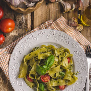Vegetarian Pappardelle Pasta Recipes.