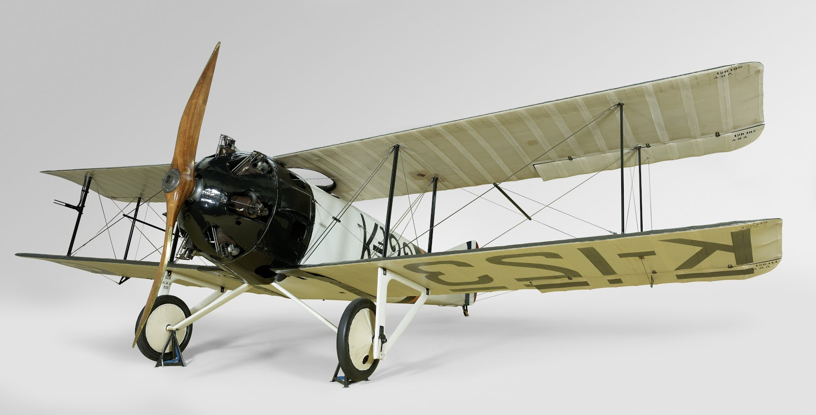 One of the best=kept secrets at the Rijksmuseum is its FK 23 Bantam World War One fighter jet.
