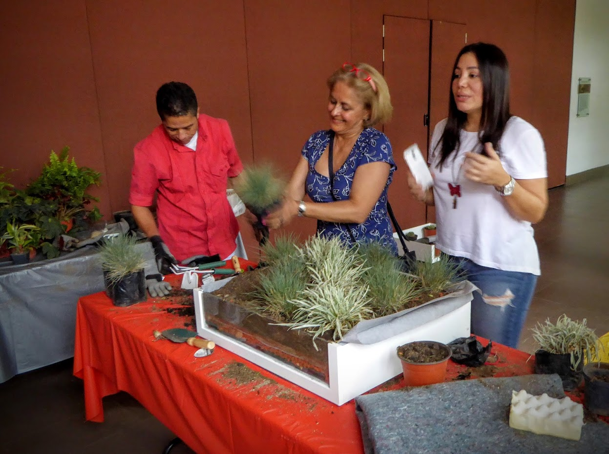 Curso de cubiertas vegetales en Colombia