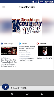 K Country 102.3- screenshot thumbnail