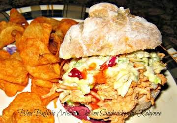 Bleu Buffalo Artisan Chicken Sandwiches~Robynne