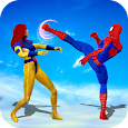 Superhero Fighting Arena Kung Fu Fight Game icon