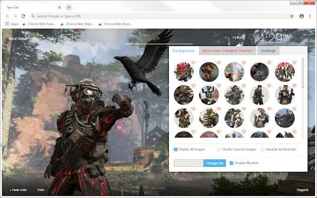 Apex Legends HD Wallpapers New Tab Themes