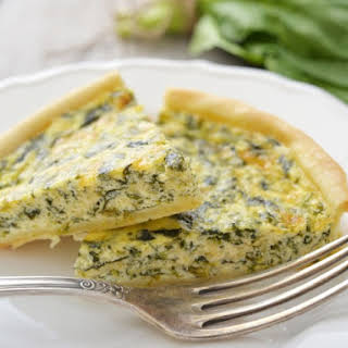 Cottage Cheese Spinach Pie Healthy Recipes.