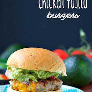 Chicken Fajita Burgers {+ A Giveaway!}