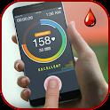 finger blood sugar tracker icon
