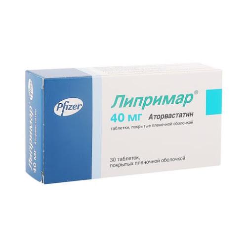 Липримар таб.п/о 40мг №30