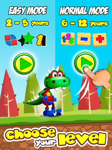 Dino Tim: Preschool Basic Math app for Android screenshot