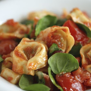 Tomato and Herb Filled Pasta