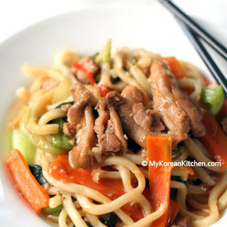 Chicken Thighs Noodles Recipes