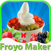 Make Froyo-kids Cooking Game