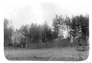 Photo: Esankadun ympäristöä 1920-luvulla