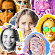 Emolfi Keyboard: selfie stickers for messengers