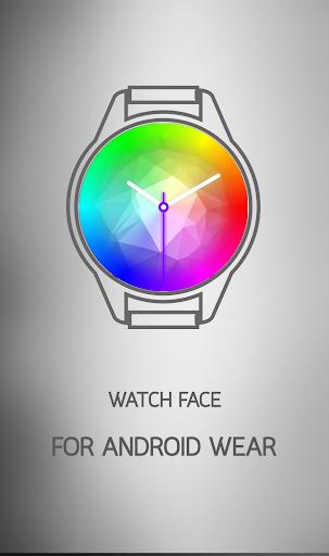 Rainbow Sweep Watch Face