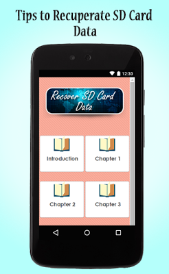 Recover SD Card Data Guide - screenshot