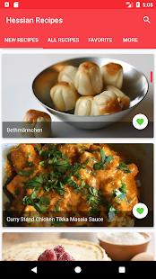 German Hessian Recipes - náhled