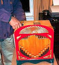 Photo: Red Organ 20 - Built by Bill