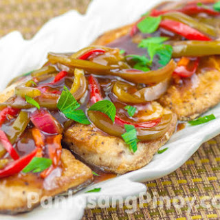 Sweet and Sour Mahi-mahi