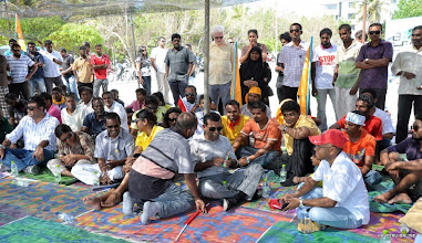 Photo: Insaafuge dhathuru 18/02/2012. Photo/Haveeru