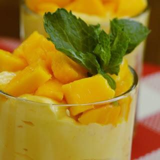 Mango Yogurt.
