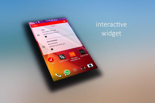 Todo Reminder Pro + Widget Aplicaciones para Android screenshot