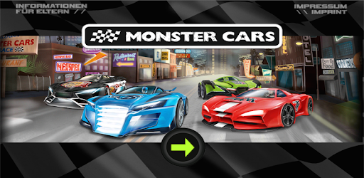 Monster Cars Racing Bydepesche Apps On Google Play