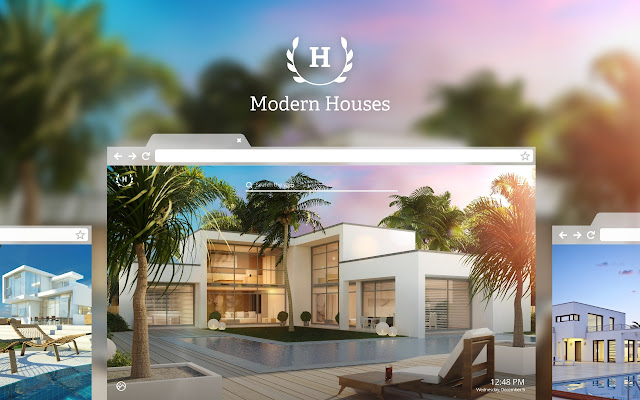 Modern Houses HD Wallpapers Theme