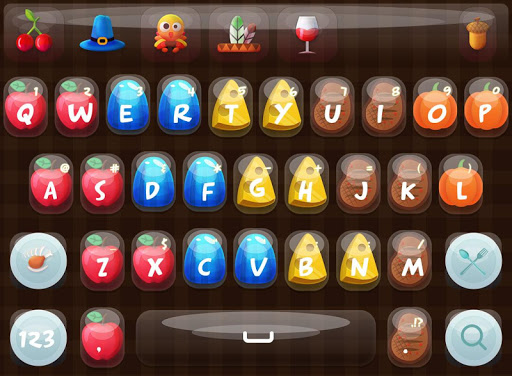 Thanksgiving FancyKey Keyboard
