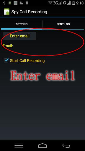 Spy Call Recording