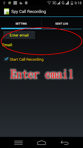 android Spy Call Recording Screenshot 0
