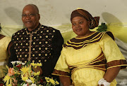 Jacob Zuma getting married to Nompumelelo Ntuli in 2007.