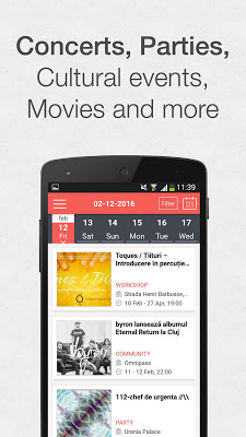 Cluj City App - screenshot