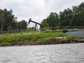 Photo: diese Ölförderanlagen gibts hier überall