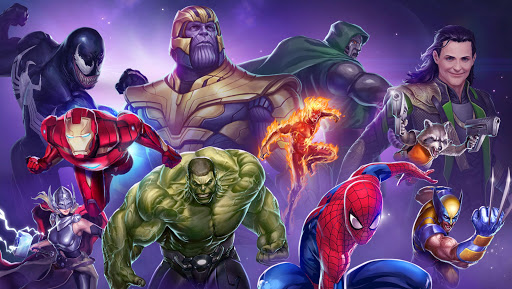MARVEL Puzzle Quest: Join the Super Hero Battle! screenshot 17