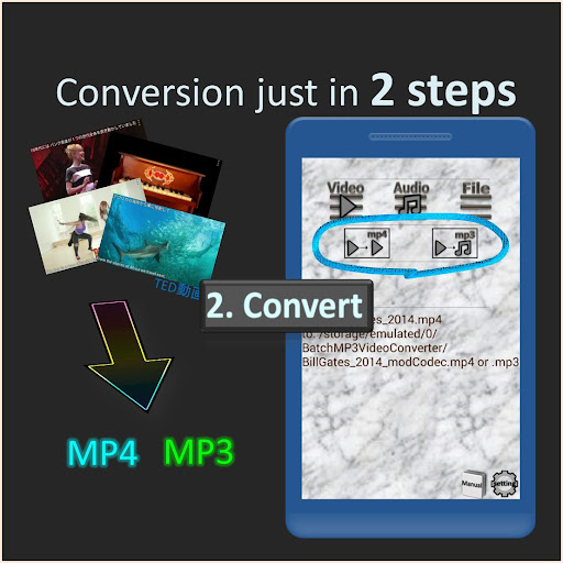 Batch MP3 Video Converter, many files with 1 click 1.1.3 screenshots 2