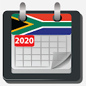 South Africa Calendar 2020 icon