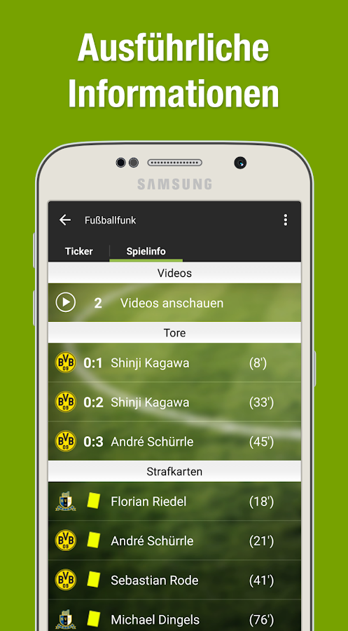 fußball live stream app android