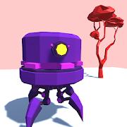 Peep - minimalist beautiful scifi robots platformer