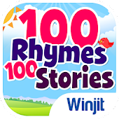 100 Kids Nursery Rhymes & 100 Children Stories