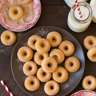 Baked Cinnamon Sugar Mini Donuts Recipe