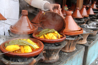 Photo: Delicious tagines prepared freshly made this lunch stop something to remember.