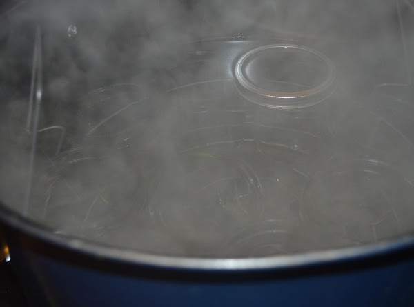 Process in boiling water bath for 25 minutes. Timing starts when water returns to a...