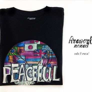 """Peaceful""t-shirt"