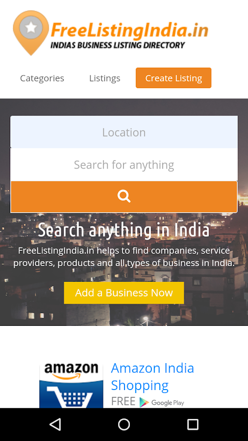 FreeListingIndia- screenshot