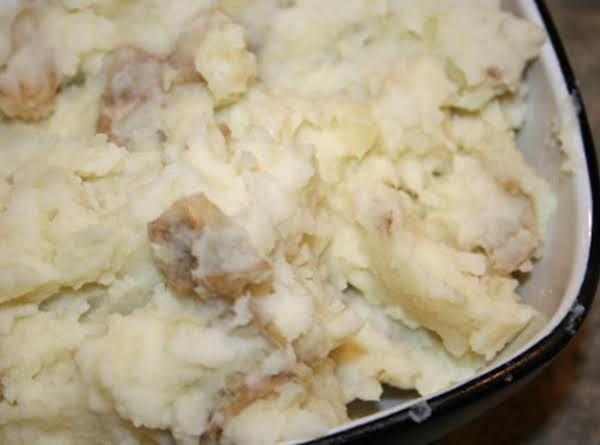Candice's Amazing Roasted Garlic Smashed Potatoes Recipe
