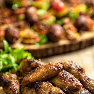 Jerk-Style Chicken Wings