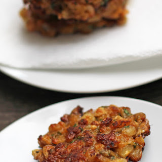 Turning Corn Cakes Into Latkes